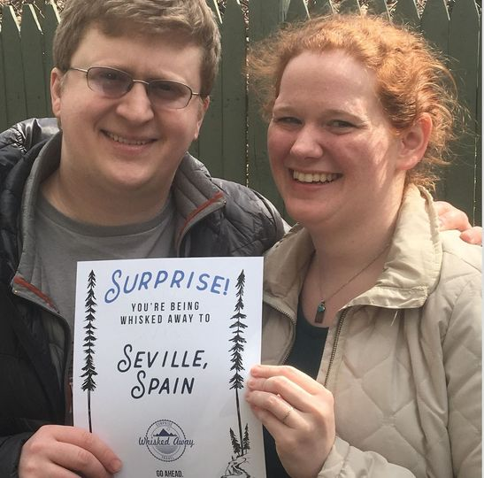 Sarah + Michael were Whisked Away to Seville, Spain for their honeymoon!
