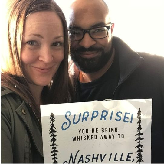 Kara + Cam were Whisked Away to Nashville, TN for a romantic getaway!