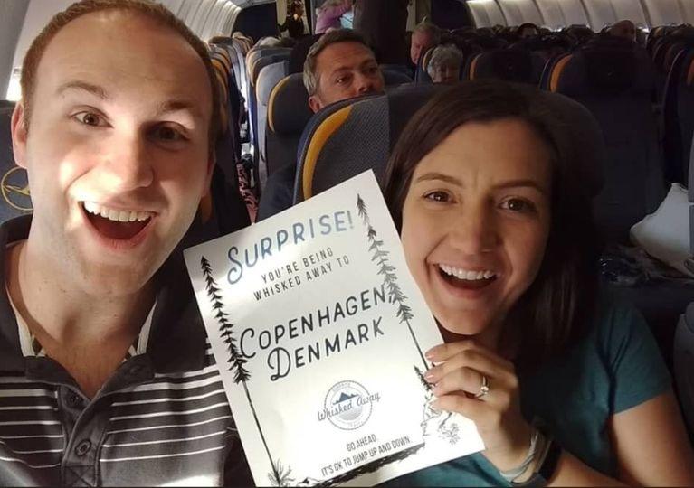 Kim + Jess were Whisked Away to Copenhagen, Denmark for their surprise honeymoon!