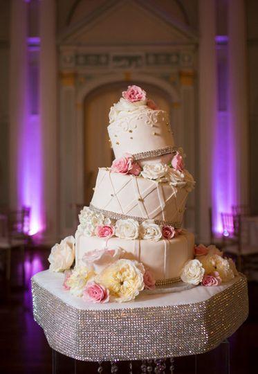 Asymmetric cake