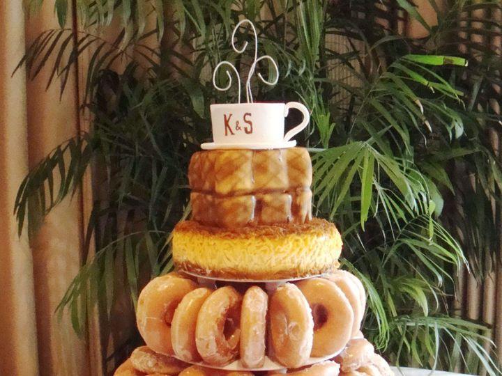 Tmx 1359066493476 Donutswithbreakfastcake Marietta, Georgia wedding cake