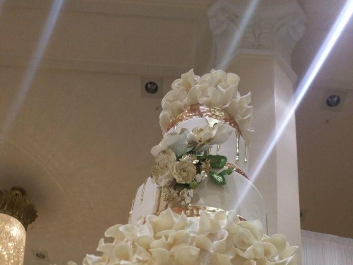 Tmx 1522262133 Ef5e10e20e4da48e Gold Dripp 200 From Below Marietta, Georgia wedding cake