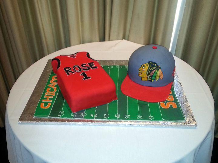 Tmx 8 3 Chicago Sports Fan 51 5474 Marietta, Georgia wedding cake