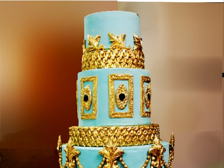 Tmx Gold Louis 14th 51 5474 Marietta, Georgia wedding cake