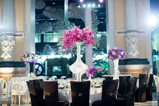 Tmx 1467914157860 Black Chameleon Chairs For Weddings Purple Orchids Philadelphia, Pennsylvania wedding venue