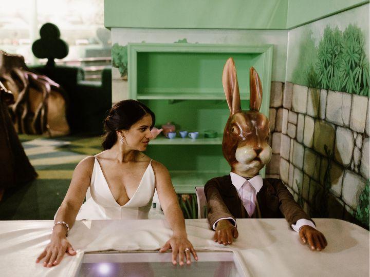 Alice in Wonderland exhibit