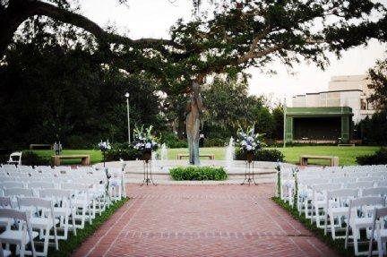 City Park Botanical Garden-New Orleans,LA-Ceremony