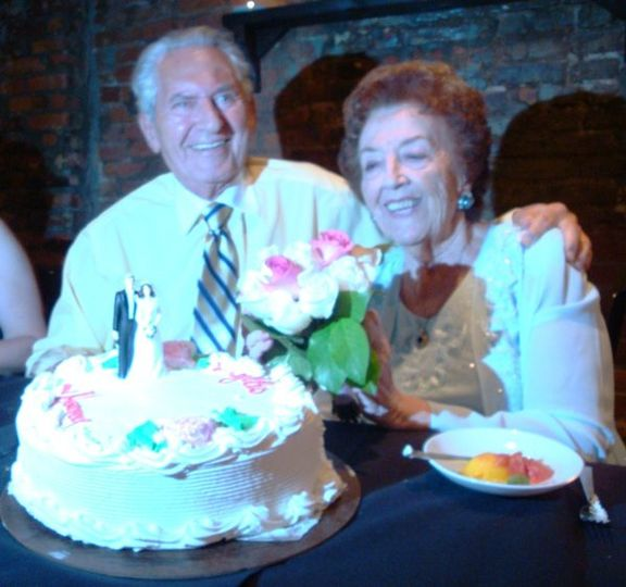 My first wedding!  Harvey & Phyllis