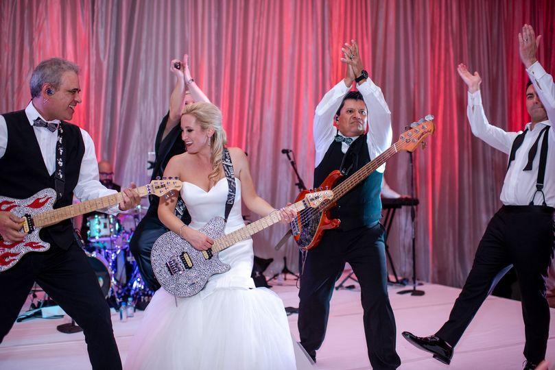 Bridal guitar solo