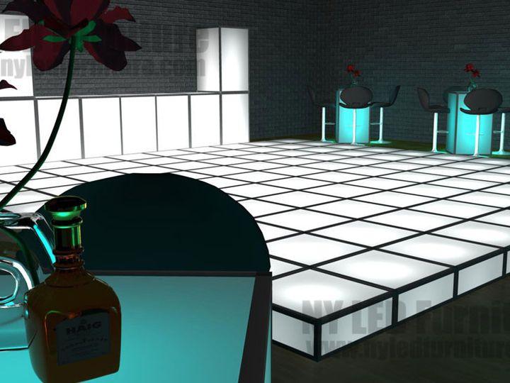 Tmx 1454778130094 Light Up Dance Floor Rental Ny Led Furniture West Babylon wedding rental