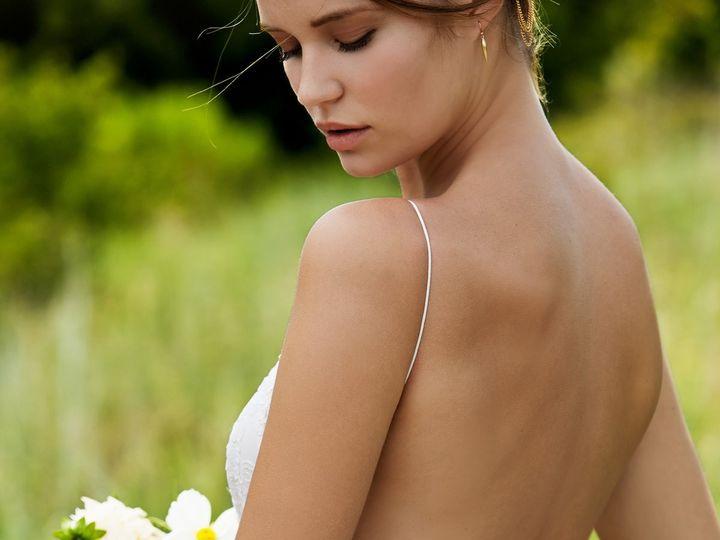 Tmx 1454605334955 Inez Back Wilmington wedding dress