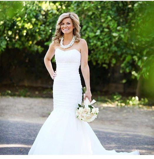 Salon Bridal portrait