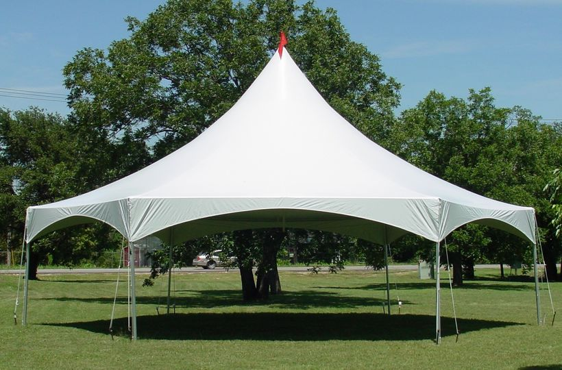 35x40 hexagon tent