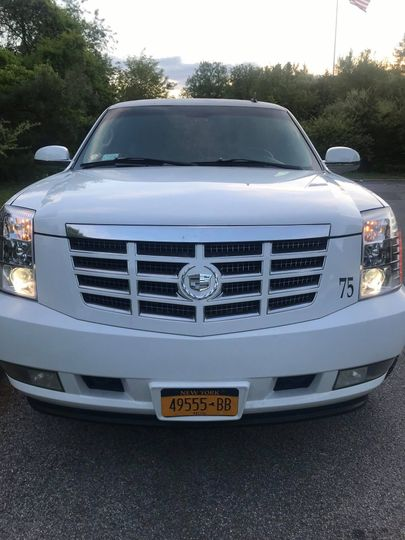 Front of the Escalade
