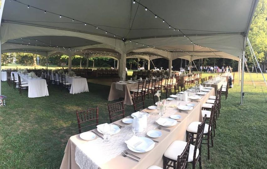 marquee tent style