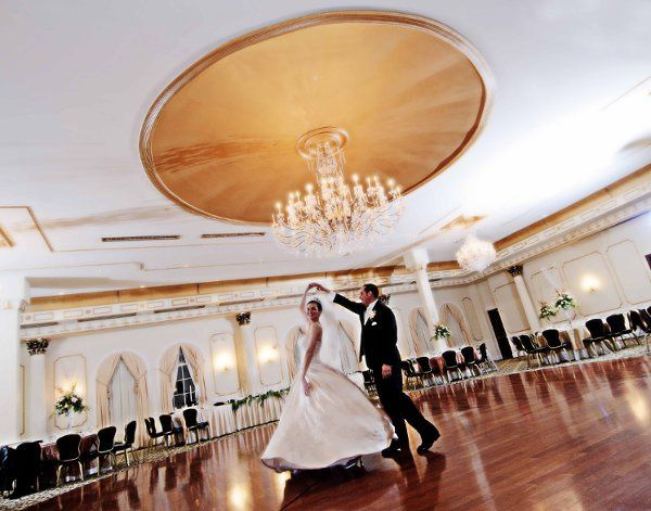Amanda and Jason dancing the night away at The Merion in the Palace Ballroom.  Picture taken by...
