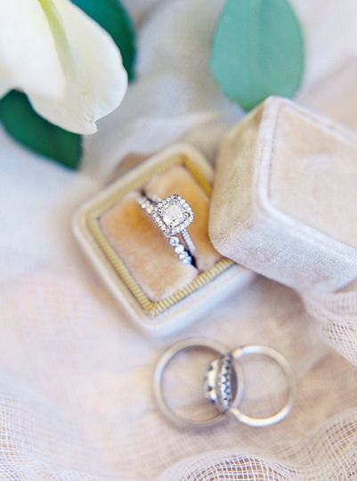 Couple's wedding ring