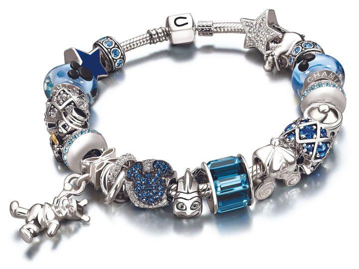 Tmx 1367131107814 Hangingpoohblueandsilversnapbracelet Camarillo wedding jewelry