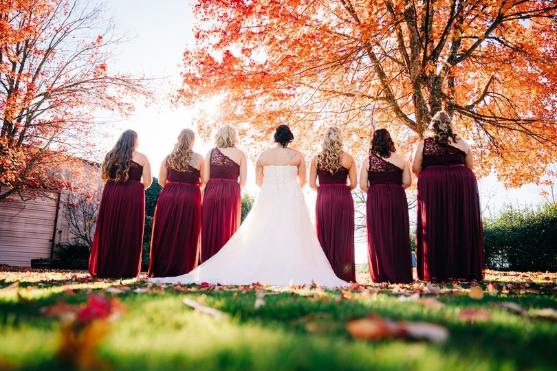 Fall Colors Bride Tribe