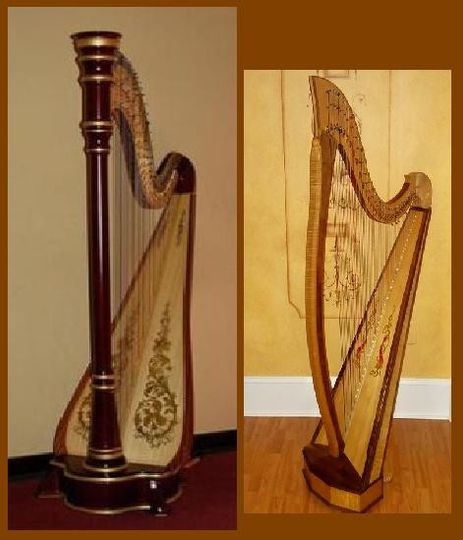 Pedal Harp and Lever Harp