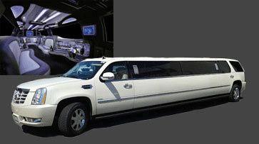 Tmx 1399339406397 Escaladestretchwhit Los Angeles, CA wedding transportation