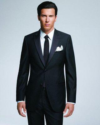 Black Valenza Suit
