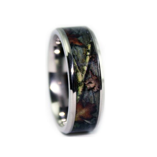8c100bvt bevel titanium camo wedding ring