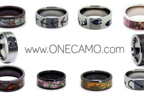#1 CAMO Wedding Rings