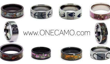 #1 CAMO Wedding Rings