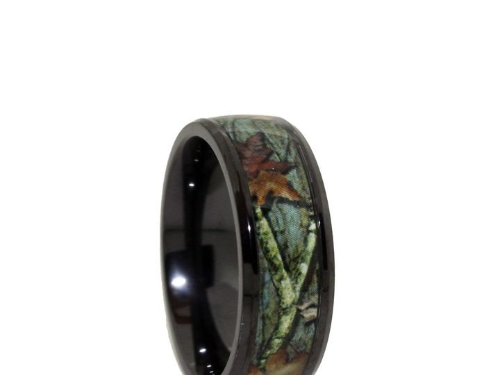 Tmx 1464027961607 8c100bti   Black Titanium Camo Wedding Rings Tilden wedding jewelry