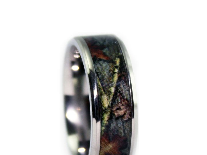 Tmx 1464027961658 8c100bvt   Bevel Titanium Camo Wedding Ring Tilden wedding jewelry