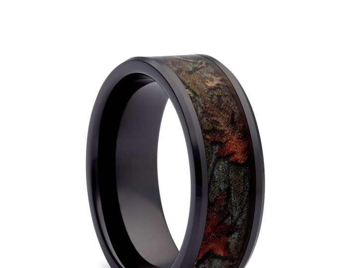 Tmx 1464027990723 Black Camo Wedding Ring Black Camo Band Tilden wedding jewelry