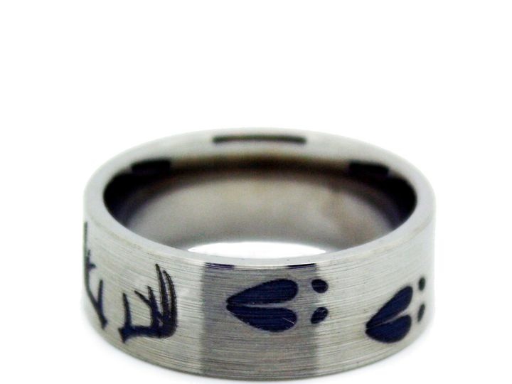 Tmx 1464028011910 Deer Antler And Deer Hunting Ring 3 Tilden wedding jewelry