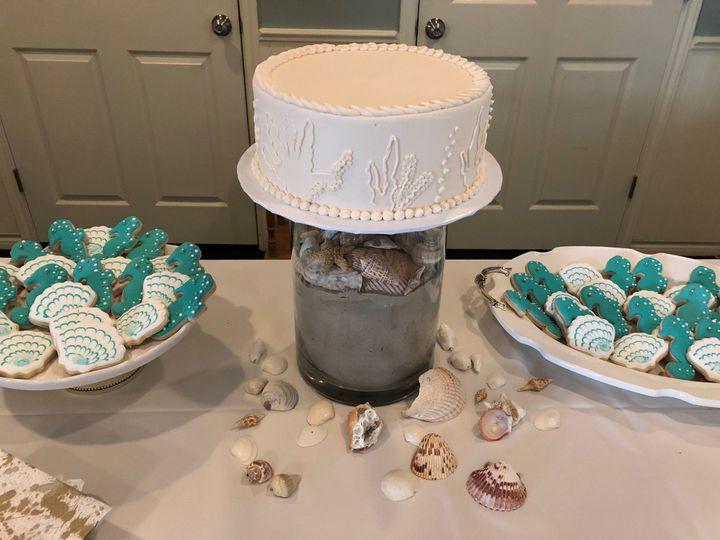 Port A Beach Cake Table
