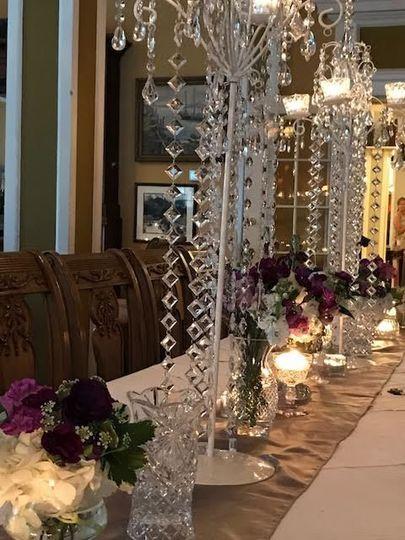 Tall decorations