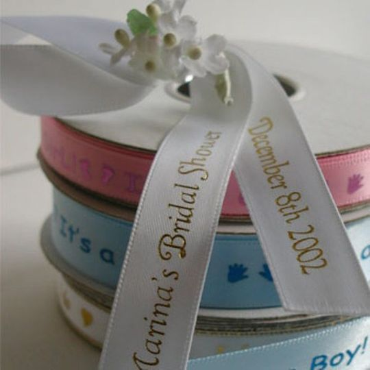 Printed ribbon - the perfect addition to favors, gifts or packaging