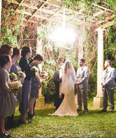 Outdoor Wedding!