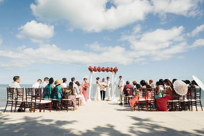 southernmost house wedding elaine palladino 23