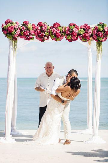 southernmost house wedding elaine palladino 26