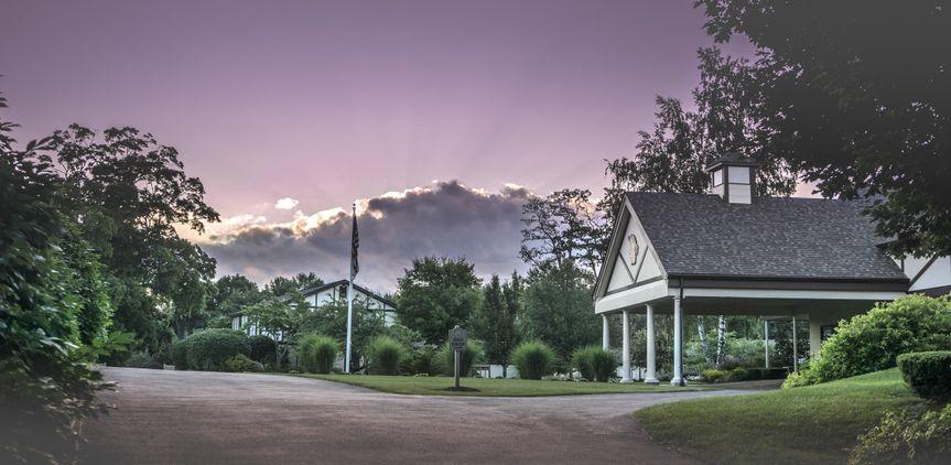 Venue exterior and driveway