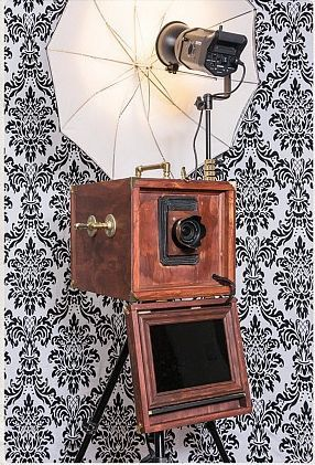 The vintage camera