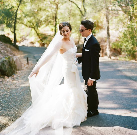 Auberge du Soleil wedding.