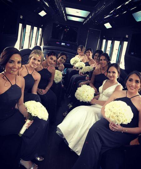 Black and white wedding theme