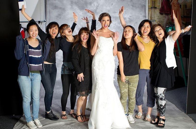 wedding dress shoot