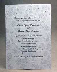 Tmx 1486165868629 10sroseinvitationsm Seattle, Washington wedding invitation