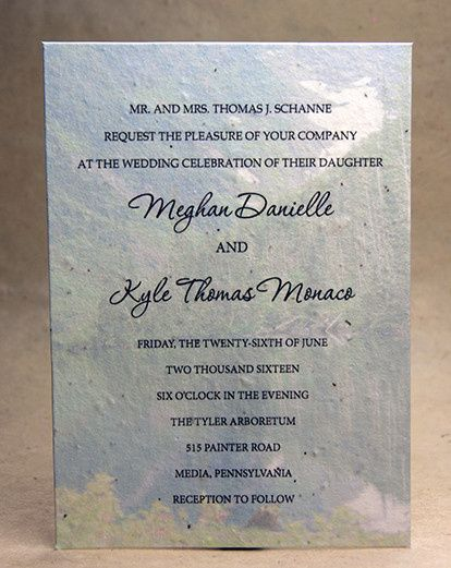 Tmx 1486165868982 10smountainlakeinvitation Seattle, Washington wedding invitation