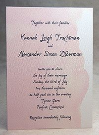 Tmx 1486165887597 Doublethickoption Seattle, Washington wedding invitation