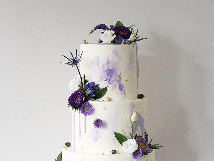 Tmx Violet Wedding Cake 51 986674 Woburn wedding cake