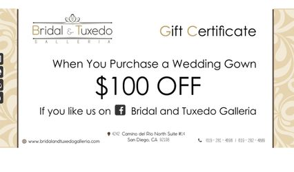 Bridal and Tuxedo Galleria 2