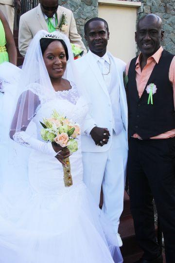 St Thomas Church Wedding, wedding cake, flowers, wedding florist, Ritz Carlton, Marriott, Bolongo